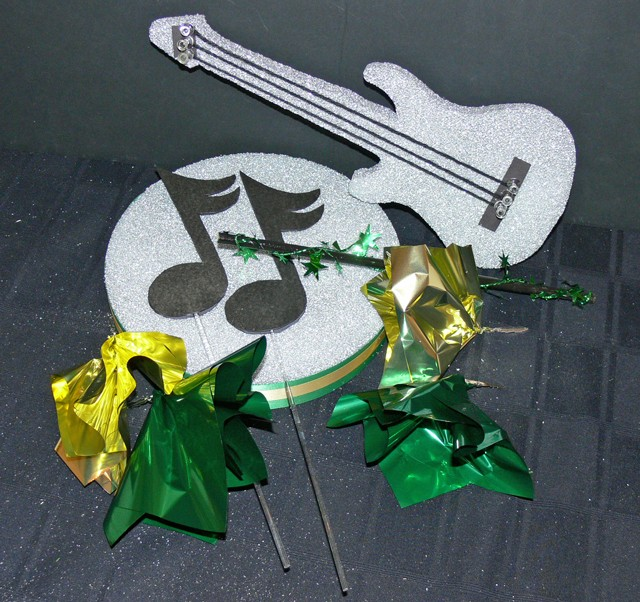 DIY Guitar Centerpiece
