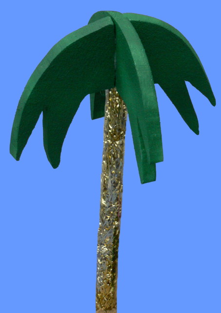 Palm Tree Kit on Flexible Plastic Tube