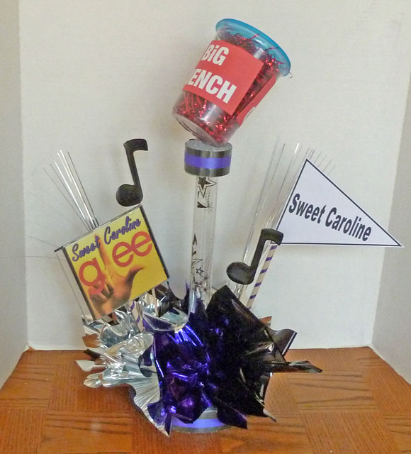 Glee Theme Musical Centerpiece