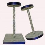 Flexible Plastic Tubes custom cut for DIY centerpiece