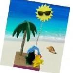 Beach centerpiece