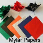 Mylar Paper Poofs Available In Different Colors For Centerpieces