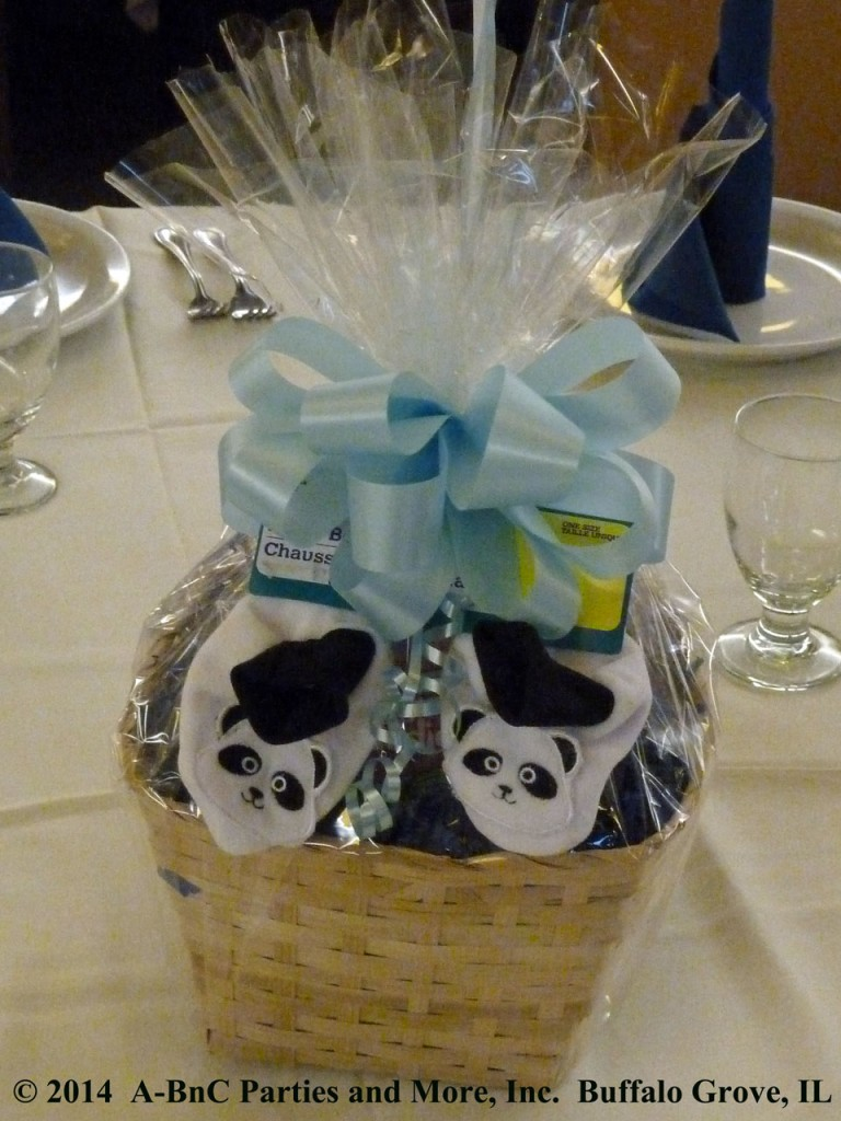 Baby Party Basket Centerpiece 02