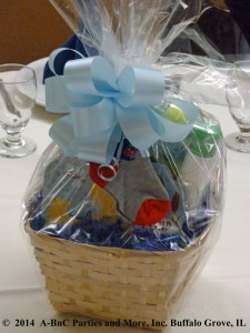 Baby Party Basket Centerpiece 03