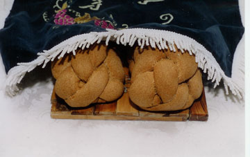 Challahs For Blessing Of The Bread