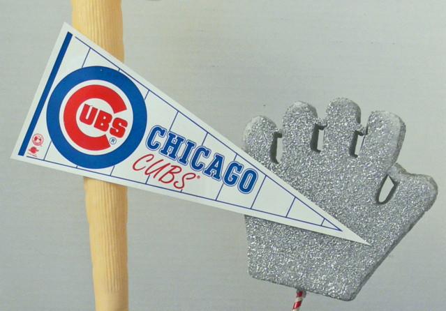 Baseball Mitt Cut Out - Baseball Pennant