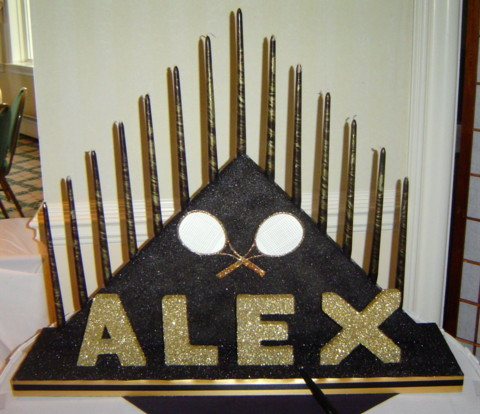 Bar Mitzvah Candle Lighting For Alex