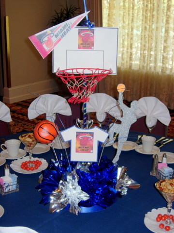 DIY Basketball Centerpiece Kit 3