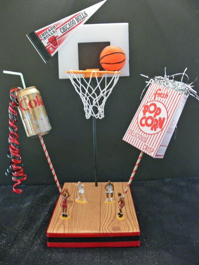 DIY Basketball Theme Centerpieces Full Kit