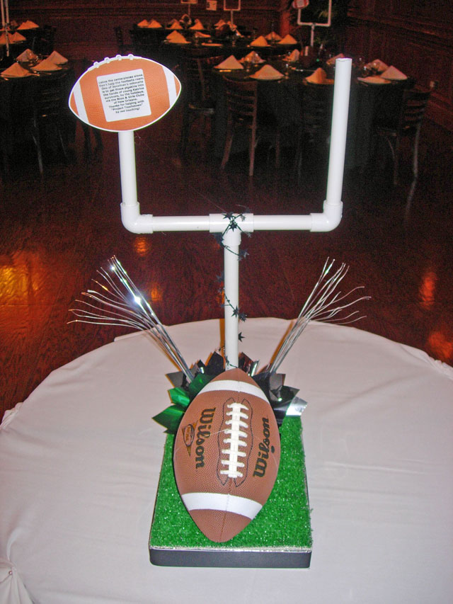DIY Football Centerpiece Sample 01