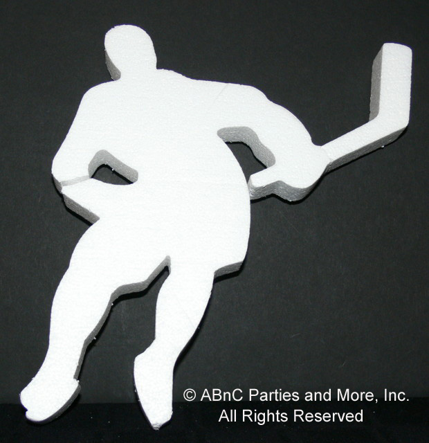 Iced Hockey Player Sports Cut Out