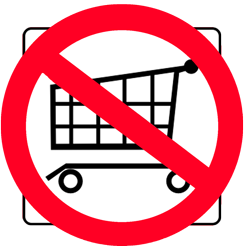 No-shopping-cart