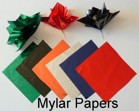 Mylar Papers and Mylar Paper Poofs