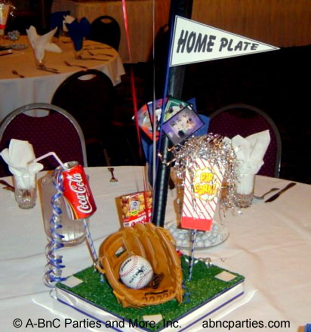 Baseball Centerpiece 01