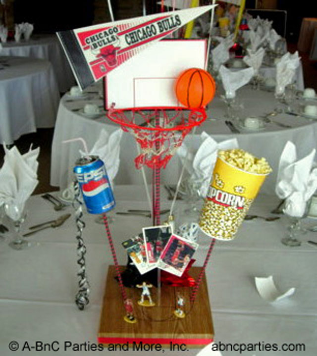 Basketball Centerpiece 02