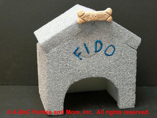 DIY Fido Dog House Centerpiece Kit