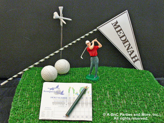 DIY Golf Centerpiece Kit Accessories