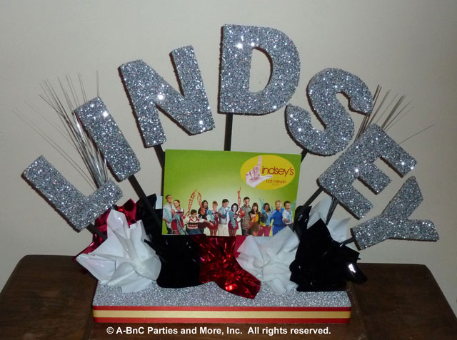DIY Name Centerpiece Kit -Lindsey