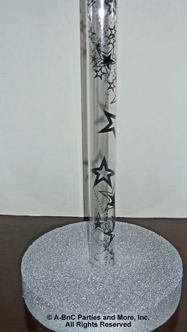 Flexible Plastic Tube With Star Pattern
