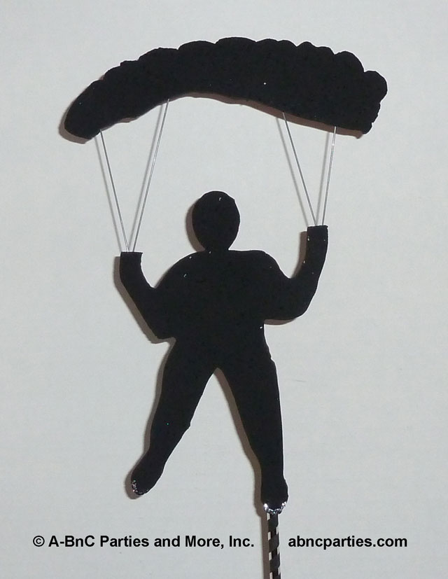 Parachuttng Cut Out