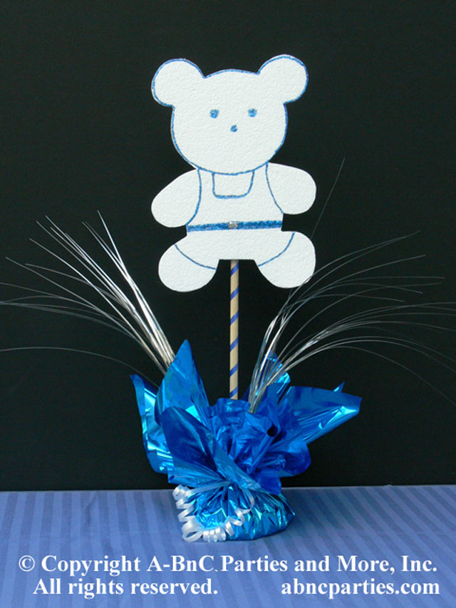 DIY Teddy Bear Just Add Sand Centerpiece Kit
