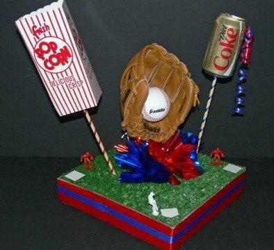A-BnC DIY Baseball Centerpiece Kit 1