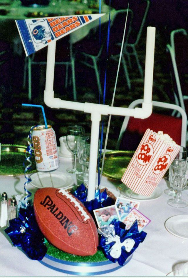 DIY Football Centerpiece Sample 03