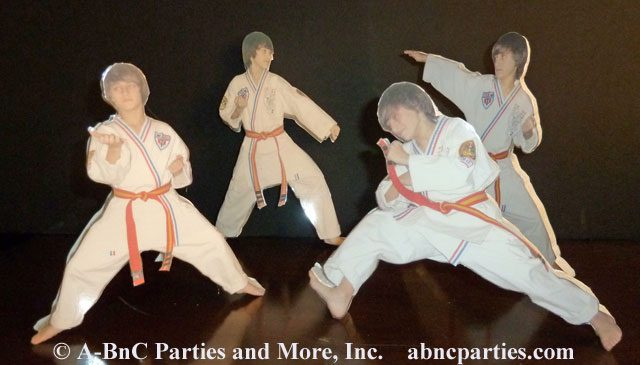 Martial Arts Laminated Photo Cut Outs 01