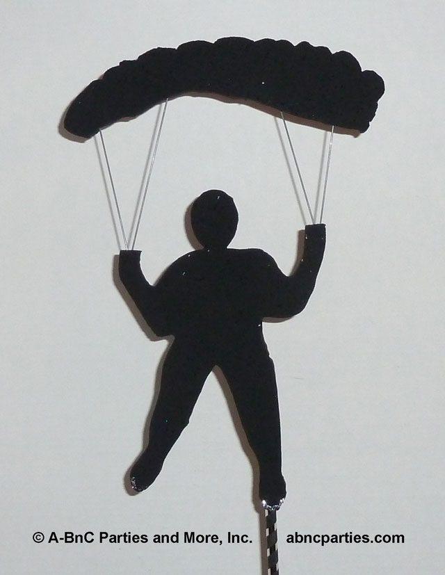 Parachuttng Cut Out
