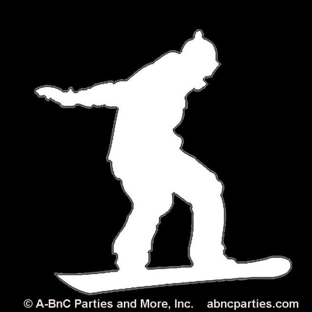 Snowboarder Cut Out 02