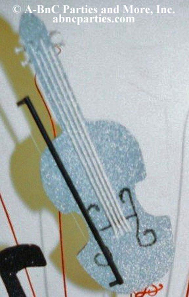 Violin Cut Out